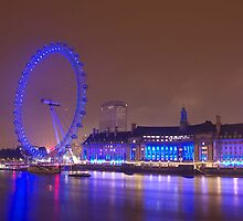 London Eye by DaveHudson999