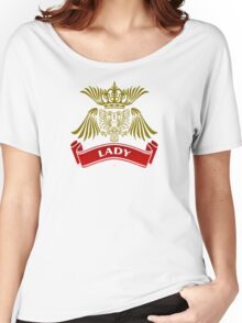 The Lady Coat-of-Arms Women's Relaxed Fit T-Shirt