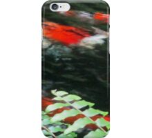 Coi Fish Pond iPhone Case/Skin