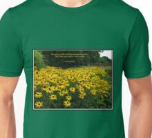 The Glory of the Lord - Floral Vignette Unisex T-Shirt