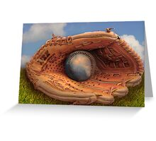 Out of Left Field Greeting Card