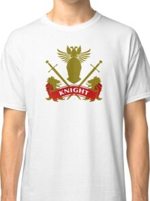 The Knight Coat-of-Arms Classic T-Shirt
