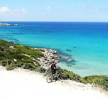 Biking In Cyprus by gwynnethann