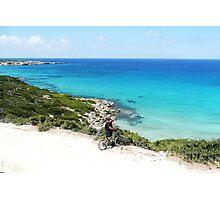 Biking In Cyprus Photographic Print