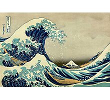 Hokusai, The Great Wave off Kanagawa, Japan, Japanese, Wood block, print Photographic Print