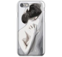 Dismorphing Back iPhone Case/Skin