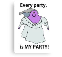 LSP PARTY TIME! Canvas Print