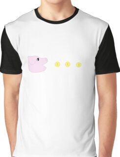 Pac-Pig Graphic T-Shirt