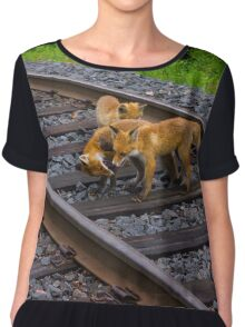 Urban Fox V Chiffon Top