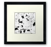 Techno Puzzle  Framed Print