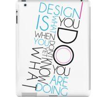 Doing Design iPad Case/Skin