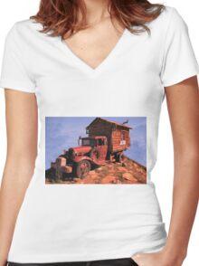 Retirement Dream Women's Fitted V-Neck T-Shirt