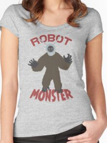 Robot Monster! Women's Fitted Scoop T-Shirt