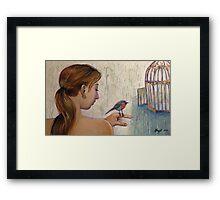 Gilded Freedom Framed Print