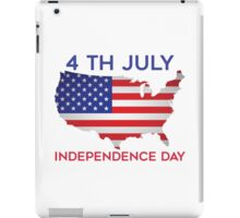 4 TH JULY INDEPENDENCE DAY iPad Case/Skin