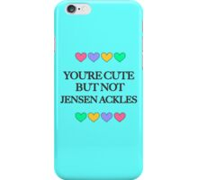 Cute but not Jensen Ackles - liferuiner 04 iPhone Case/Skin
