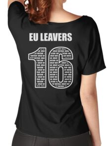 EU Leavers 16 Women's Relaxed Fit T-Shirt