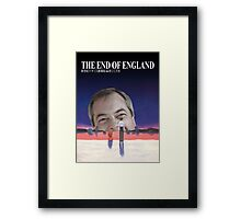 The End of England Framed Print