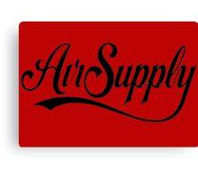 air supply Canvas Print