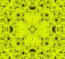 """Spirit of India: Fleur"" in neon yellow by FireFairy"