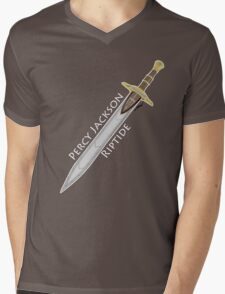 Percy Jackson Riptide Mens V-Neck T-Shirt