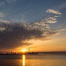 Good Morning, Toronto with a Glorious Sunrise by Georgia Mizuleva