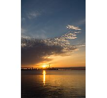 Good Morning, Toronto with a Glorious Sunrise Photographic Print