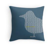 Bird is the Word Throw Pillow