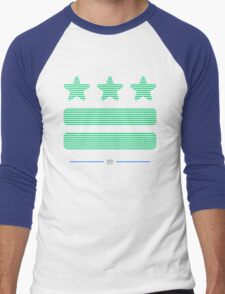 DC Represent (Shutter-green) Men's Baseball ¾ T-Shirt
