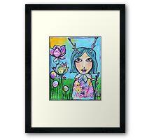 Spring Doll Framed Print