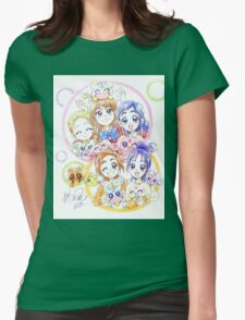 Precure Splash Star Womens Fitted T-Shirt