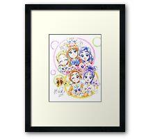 Precure Splash Star Framed Print