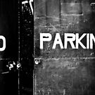 no parking no kerning by blacqbook