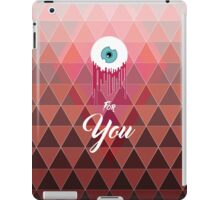 Love is not blind iPad Case/Skin