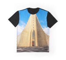 Hallgrimskirkja Graphic T-Shirt