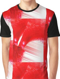 Red String Abstract  Graphic T-Shirt