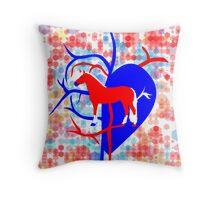 Haflinger Love Throw Pillow
