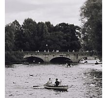 Row Boats in Stratford-upon-Avon Photographic Print