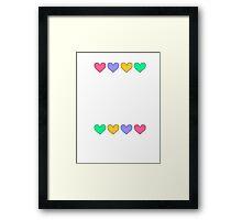 Cute but not Jensen Ackles - liferuiner 05 Framed Print