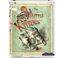 Ancient Three Little Kittens ART iPad Case/Skin