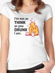 Im Not Drunk Women's Fitted Scoop T-Shirt