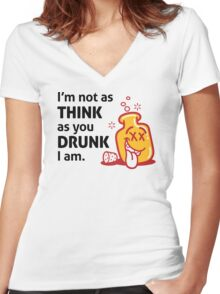 Im Not Drunk Women's Fitted V-Neck T-Shirt