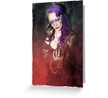 Gothic Red Greeting Card