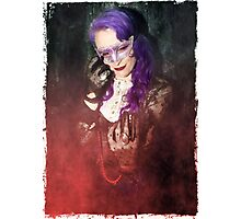 Gothic Red Photographic Print