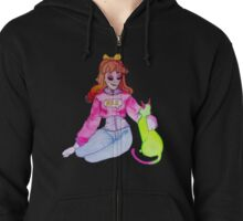 Binny and Pickled Radish Zipped Hoodie