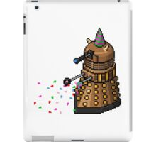Birthday Dalek - Pixel Art iPad Case/Skin