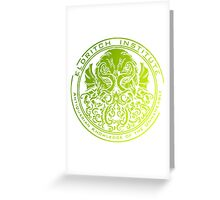 Howard Phillips Lovecraft Cthulhu Greeting Card