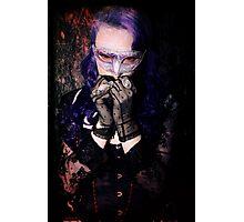 Scared Vamp Photographic Print