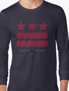DC Represent (Shutter-red) Long Sleeve T-Shirt