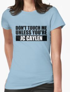 don't touch - JCC Womens Fitted T-Shirt